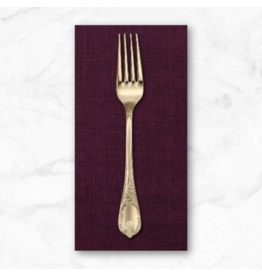 PD's Alexander Henry Collection Heath in Eggplant, Dinner Napkin