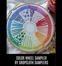 Dropcloth Samplers Color Wheel Sampler, Embroidery Sampler from Dropcloth Samplers