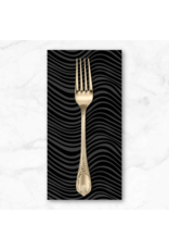 PD's Libs Elliott Collection Stealth, Waves in Coal, Dinner Napkin