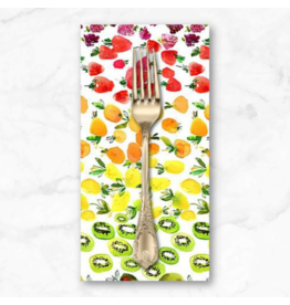 PD's August Wren Collection Tree of Life, Fruit Ombre in Multi, Dinner Napkin