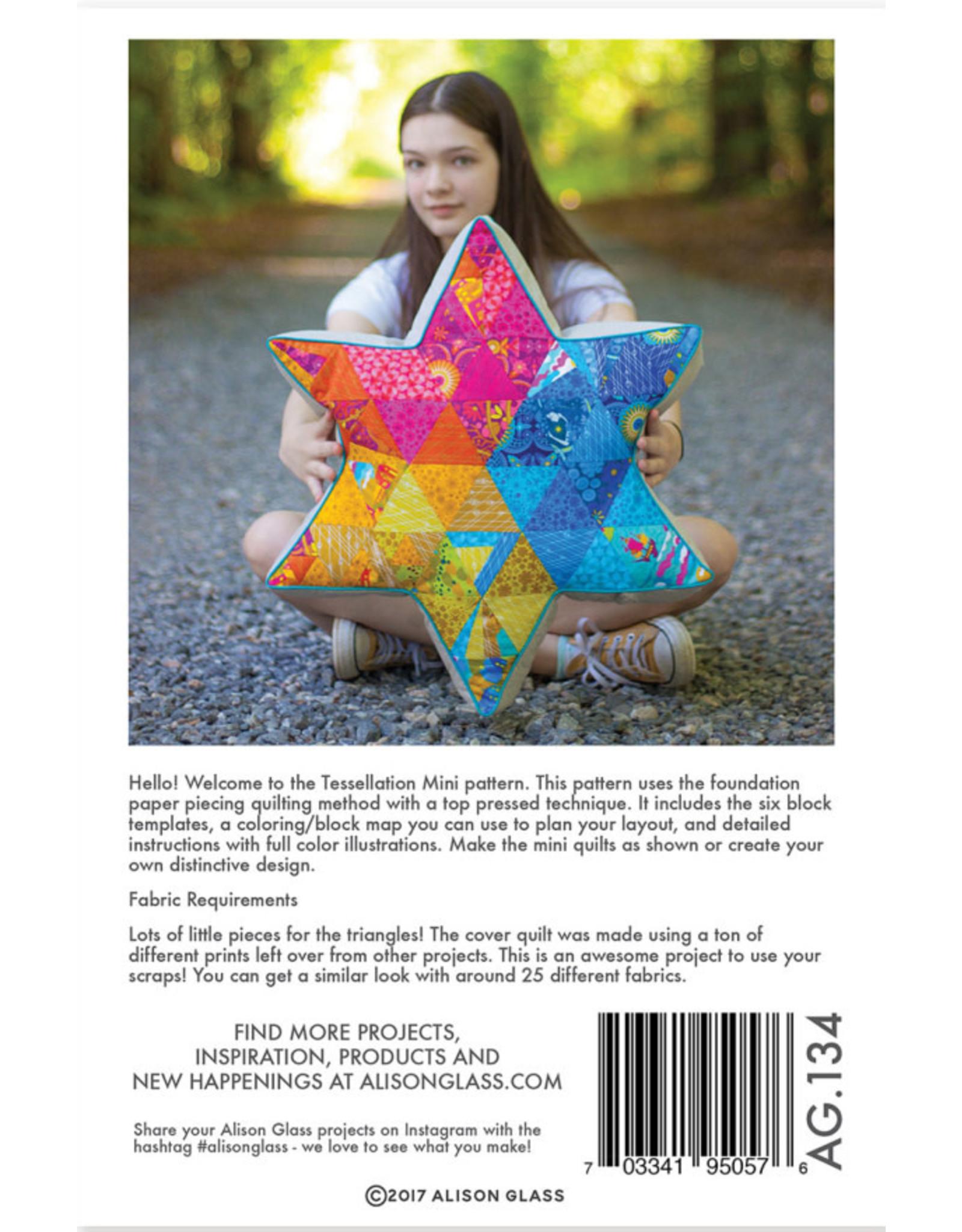Alison Glass Tessellation Mini Quilt Pattern