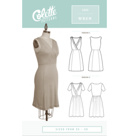 Colette Patterns ON SALE 50% OFF - Wren Pattern