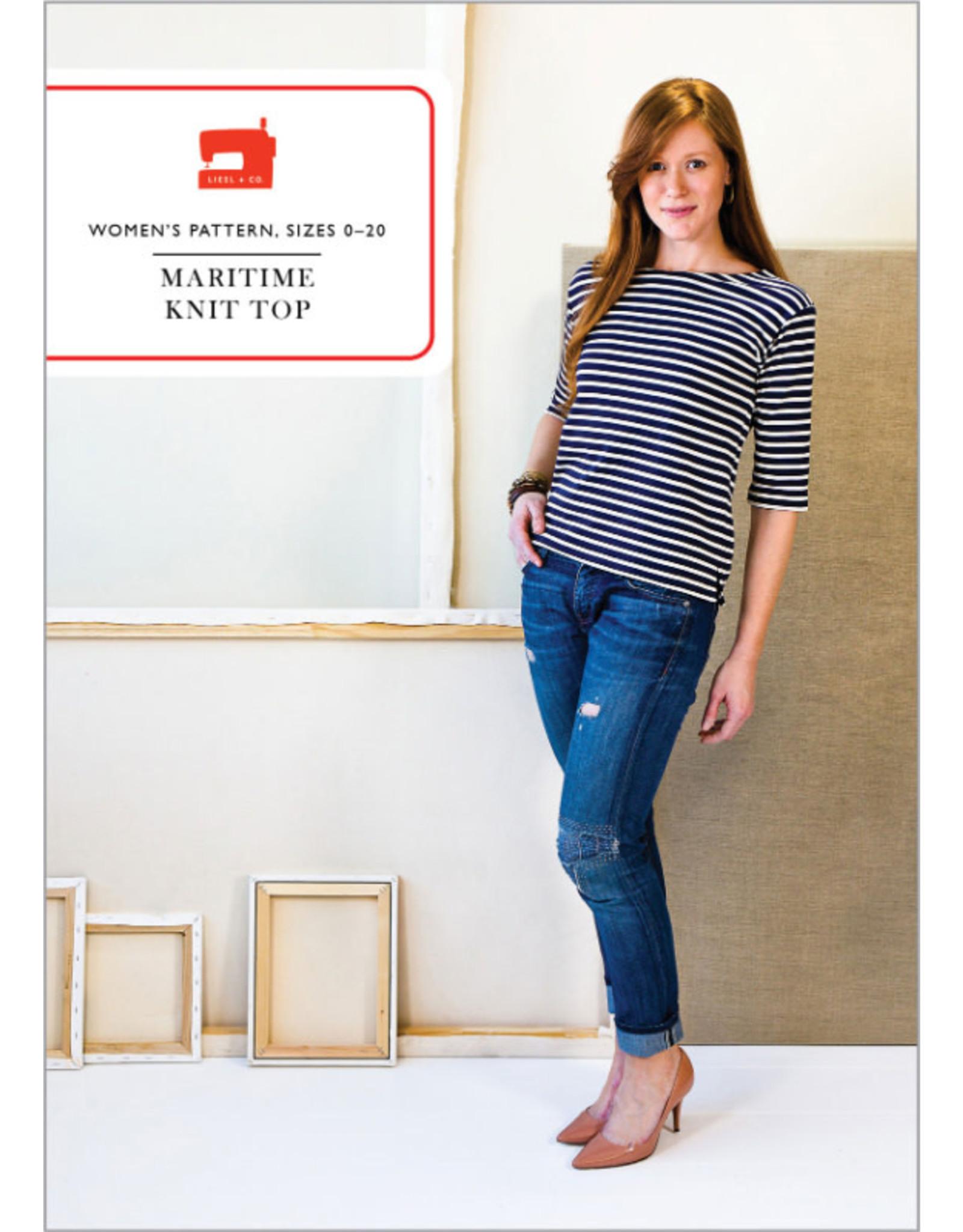Liesl+Co. Liesl+Co's Maritime Knit Top Pattern