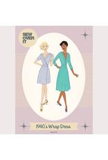Sew Over It Sew Over It 1940s Tea Dress Paper Pattern