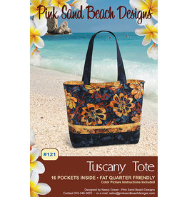 Pink Sand Beach Designs Tuscany Tote