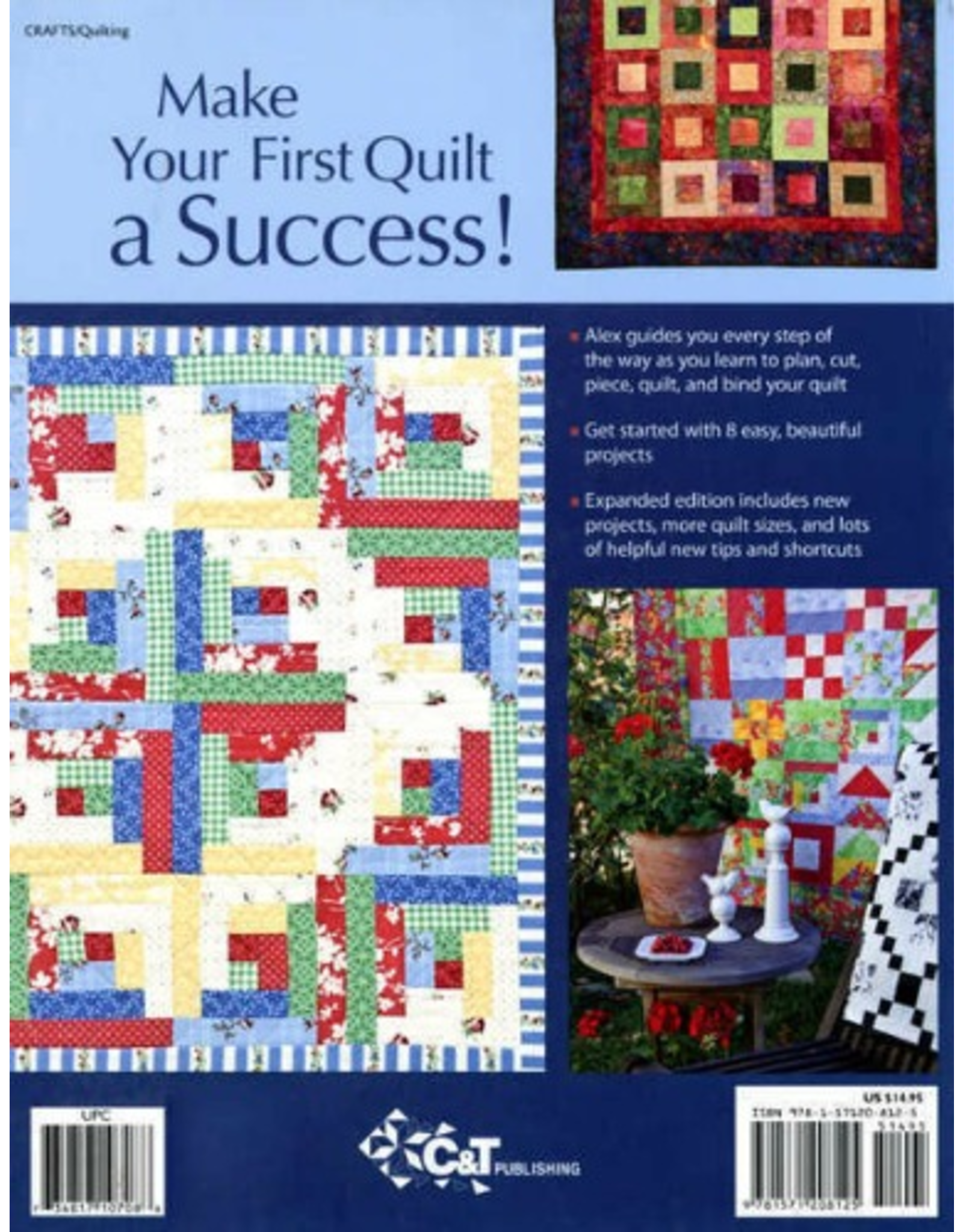Alex Anderson Start Quilting with Alex Anderson - 3rd edition