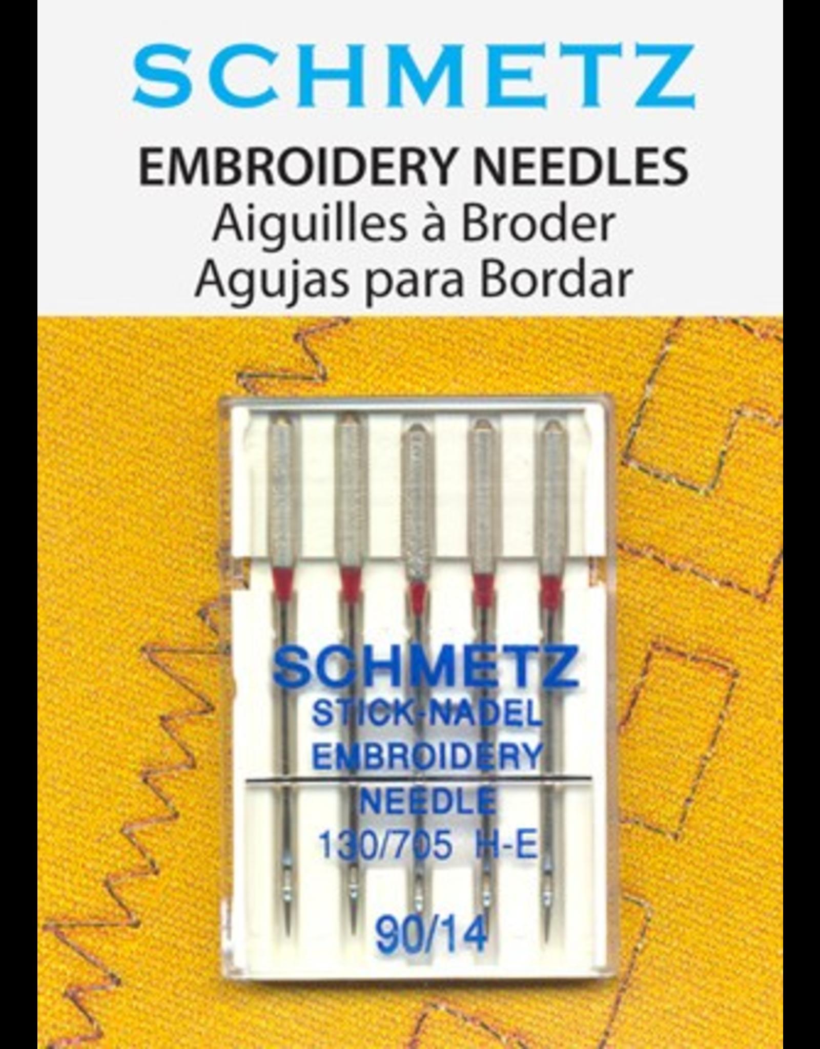 Schmetz Schmetz 1720 Embroidery Needles, Size 14/90 - 5 count