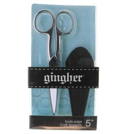 "Gingher Gingher 5"" Knife-edge Craft Scissors"