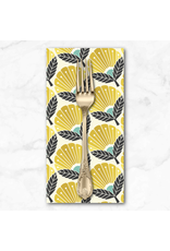 PD's Cotton + Steel Collection On a Spring Day, Blooming Daisy in Sunrise, Dinner Napkin