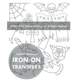 Sublime Stitching Embroidery Iron-On Transfers, Gothic Grandeur