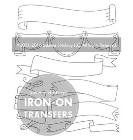 Sublime Stitching Embroidery Iron-On Transfers, Ribbons and Banners