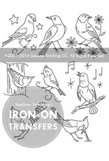 Sublime Stitching Embroidery Iron-On Transfers, Song Birds