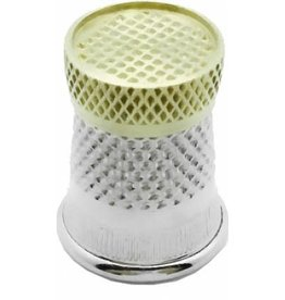 Colonial Needle Colonial, Raised-Edge Thimble, Size 6