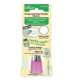 Clover Protect and Grip Thimble, Size Medium