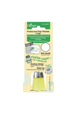 Clover Protect and Grip Thimble, Size Large