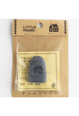 Little House Little House, Denim Thimble, Made of Leather, Size Medium