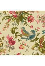 Andover Fabrics Secret Stash, Foilage in Day, Fabric Half-Yards