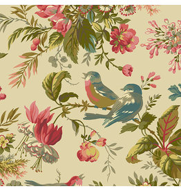 Andover Fabrics Secret Stash, Foilage in Day, Fabric Half-Yards