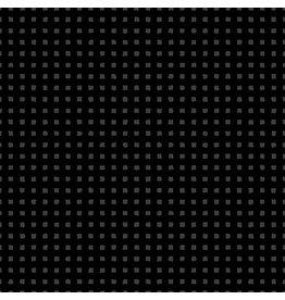 Andover Fabrics Century Solids Black on Black, Squares, Fabric Half-Yards