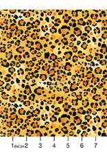 PD's August Wren Collection Paradise Found, Leopard Skin in Gold, Dinner Napkin