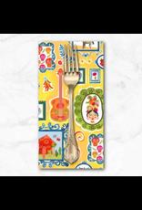 PD's Michael Miller Collection La Vida Loca, Casita in Gold, Dinner Napkin