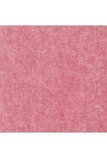 Robert Kaufman Linen, Essex Yarn Dyed in Red, Fabric Half-Yards