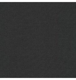 Robert Kaufman Kona Cotton in Charcoal, Fabric Half-Yards