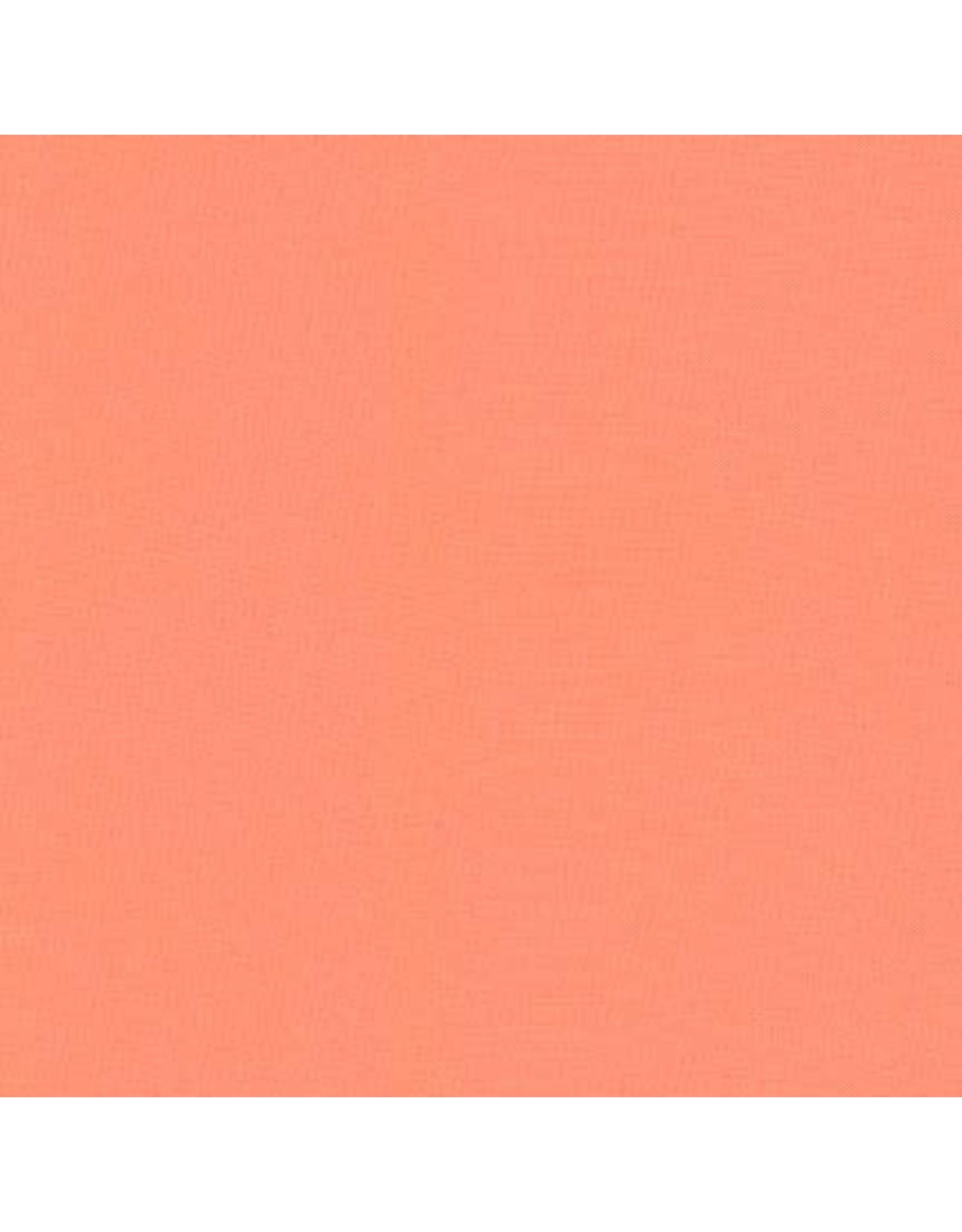 Robert Kaufman Kona Cotton in Creamsicle, Fabric Half-Yards