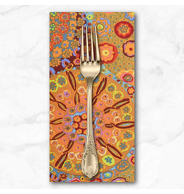 PD's Kaffe Fassett Collection Kaffe Collective Classics, Millefiore in Orange, Dinner Napkin