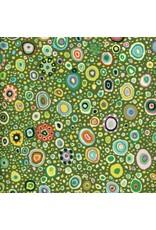 Kaffe Fassett Kaffe Collective Classics, Roman Glass in Leafy, Fabric Half-Yards