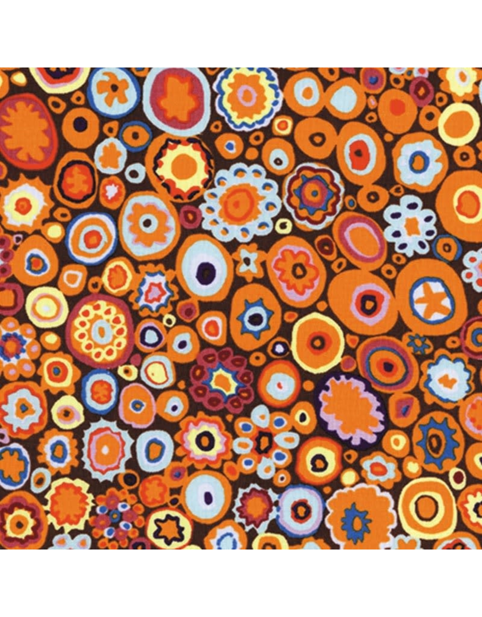 Kaffe Fassett Kaffe Collective Classics, Paperweight in Pumpkin, Fabric Half-Yards