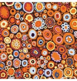 Kaffe Fassett Kaffe Collective Classics, Paperweight in Pumpkin, Fabric Half-Yards