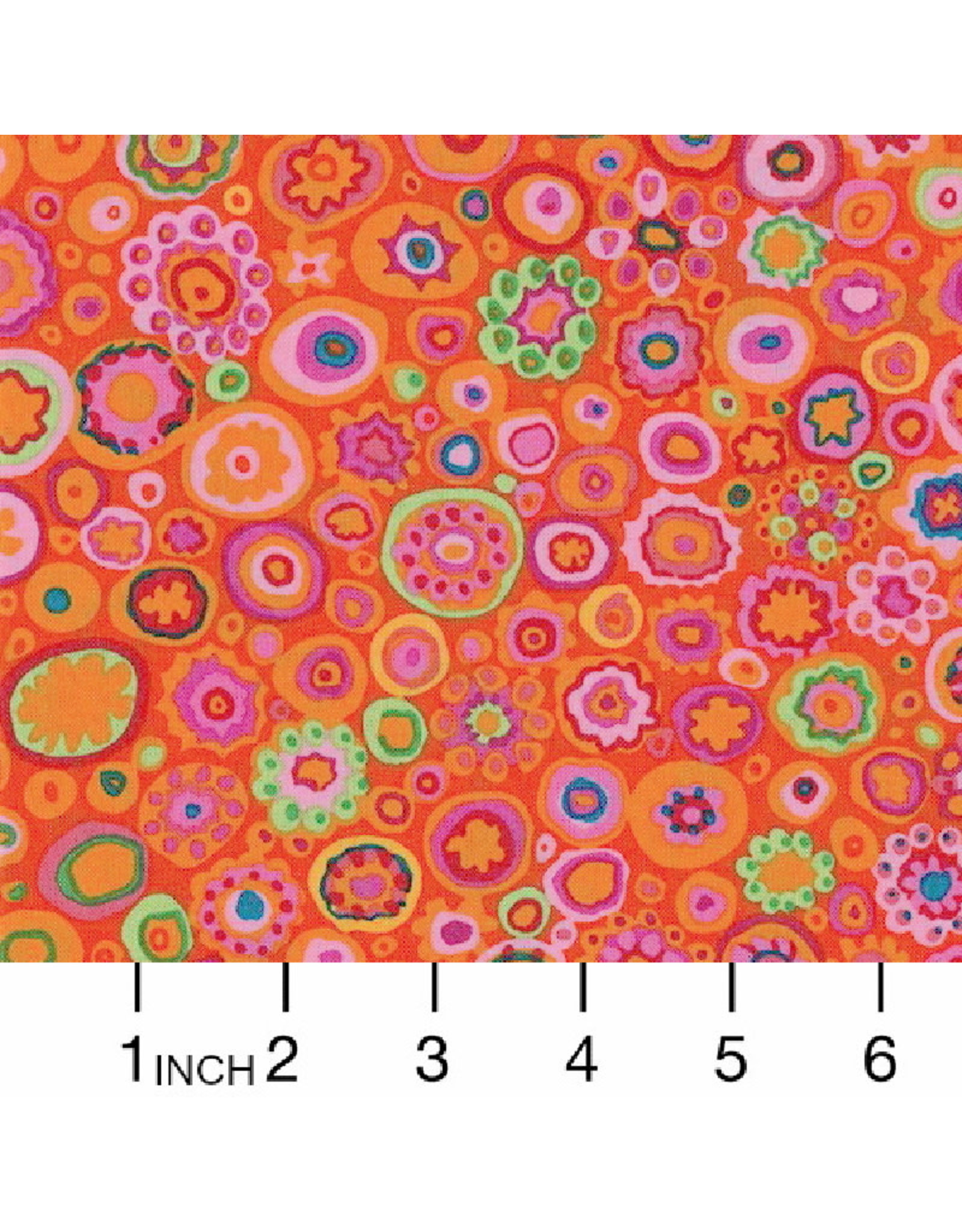Kaffe Fassett Kaffe Collective Classics, Paperweight in Red, Fabric Half-Yards