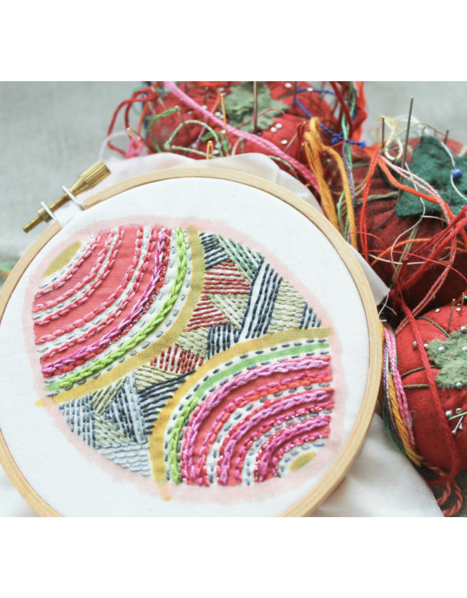 Dropcloth Samplers Pysanka Sampler, Embroidery Sampler from Dropcloth Samplers