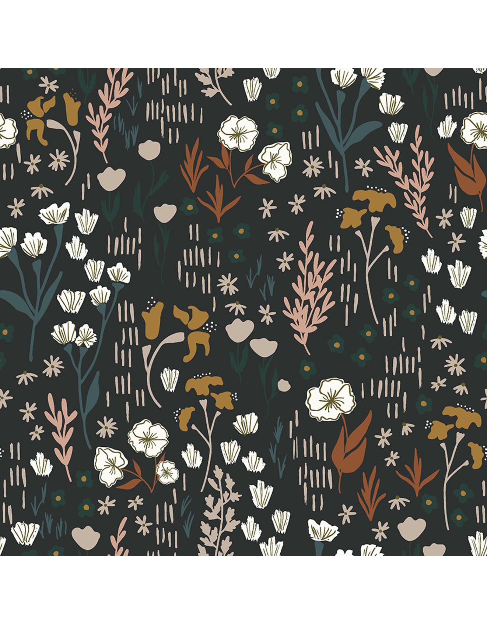 Cotton + Steel Dear Isla, Meadow in Twilight, Fabric Half-Yards