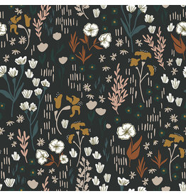 Cotton + Steel Dear Isla, Meadow in Twilight, Fabric Half-Yards