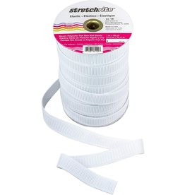 Stretchrite Stretchrite Woven Non-Roll Elastic 1 inch wide, by the yard