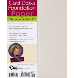 C&T Publishing Carol Doak's Foundation Paper