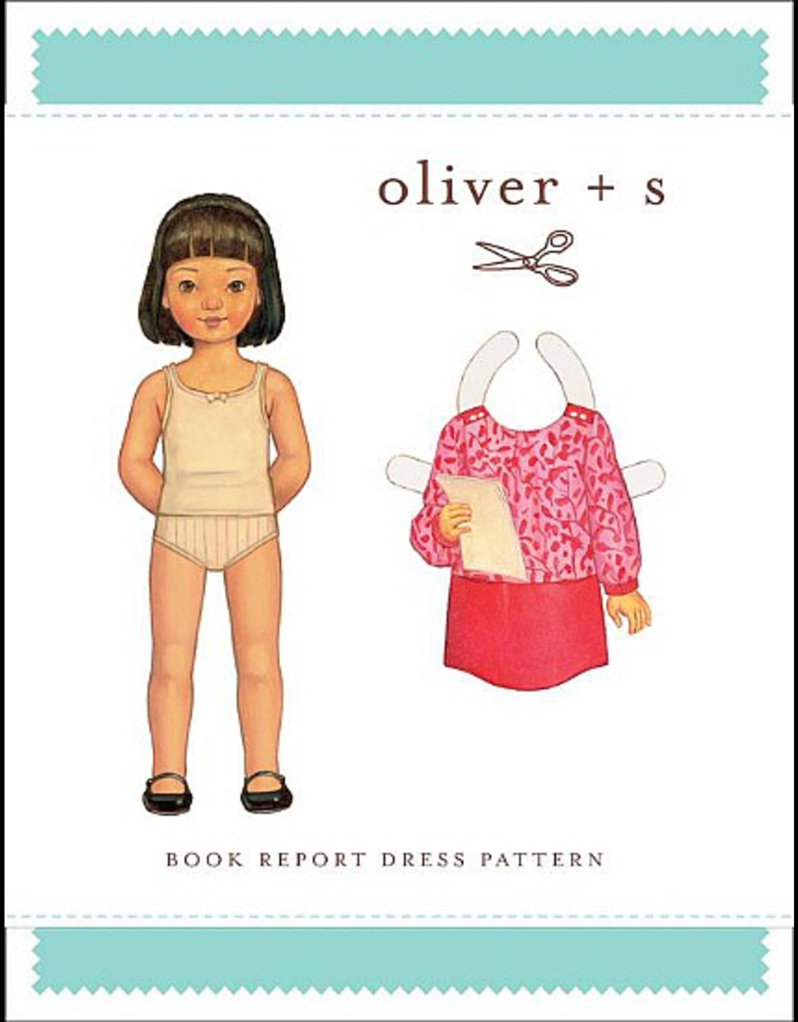 Oliver + S Oliver+S's Book Report Dress Pattern - Size 5 - 12