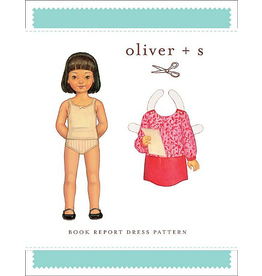 Oliver + S Oliver+S's Book Report Dress Pattern - Size 6M - 4T