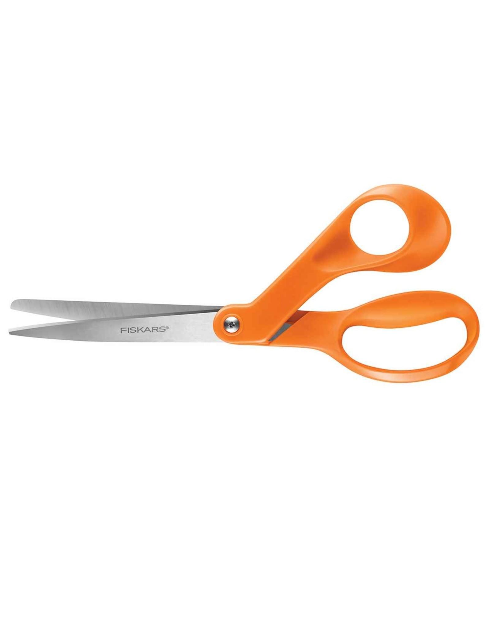 """Fiskars 8"""" Classic Bent Scissors"""