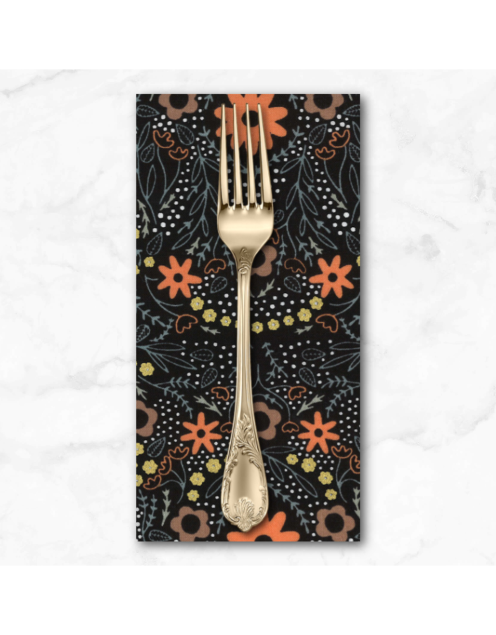 PD's Moda Collection Dwell in Possibility, Full Bloom in Night, Dinner Napkin