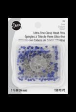 Dritz Ultra Fine Glass Head Pins, 150ct.
