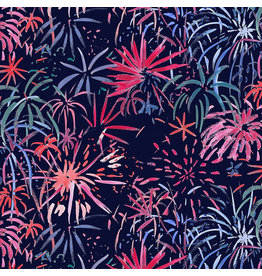 Dear Stella American Summer, Fireworks in Multi, Fabric Half-Yards