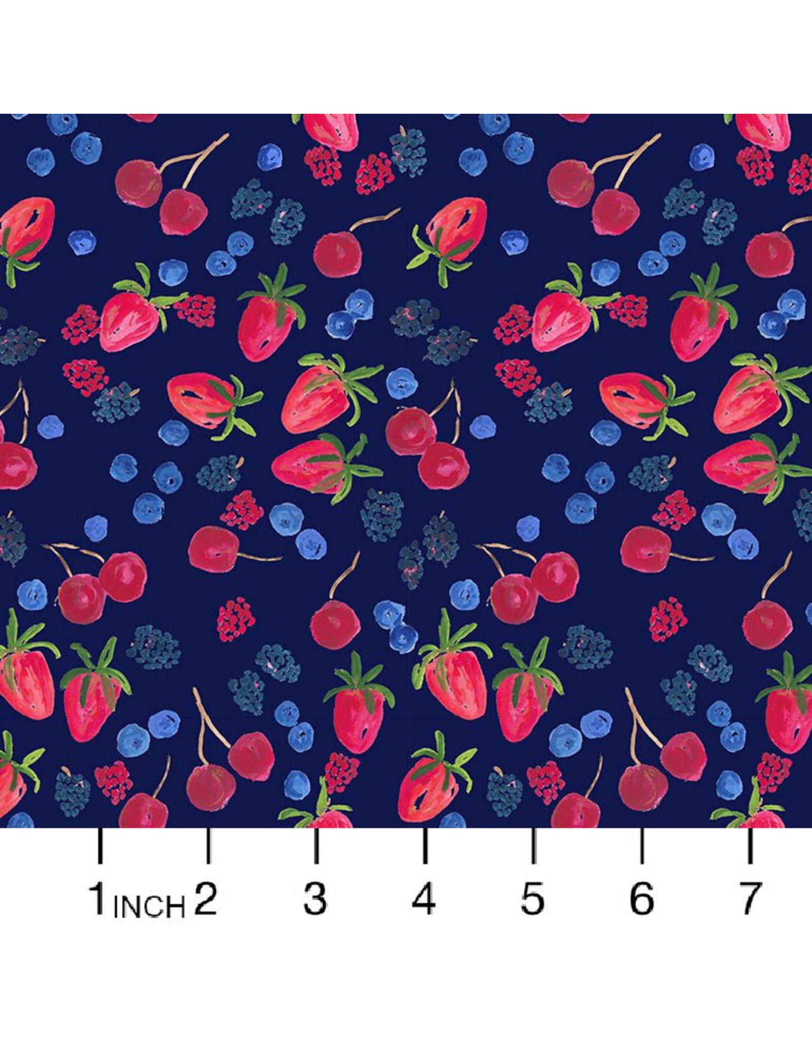 Dear Stella American Summer, Berry Picking in Multi, Fabric Half-Yards