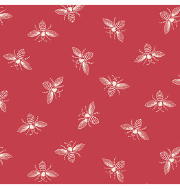 Renee Nanneman French Bee in Berrylicious, Fabric Half-Yards