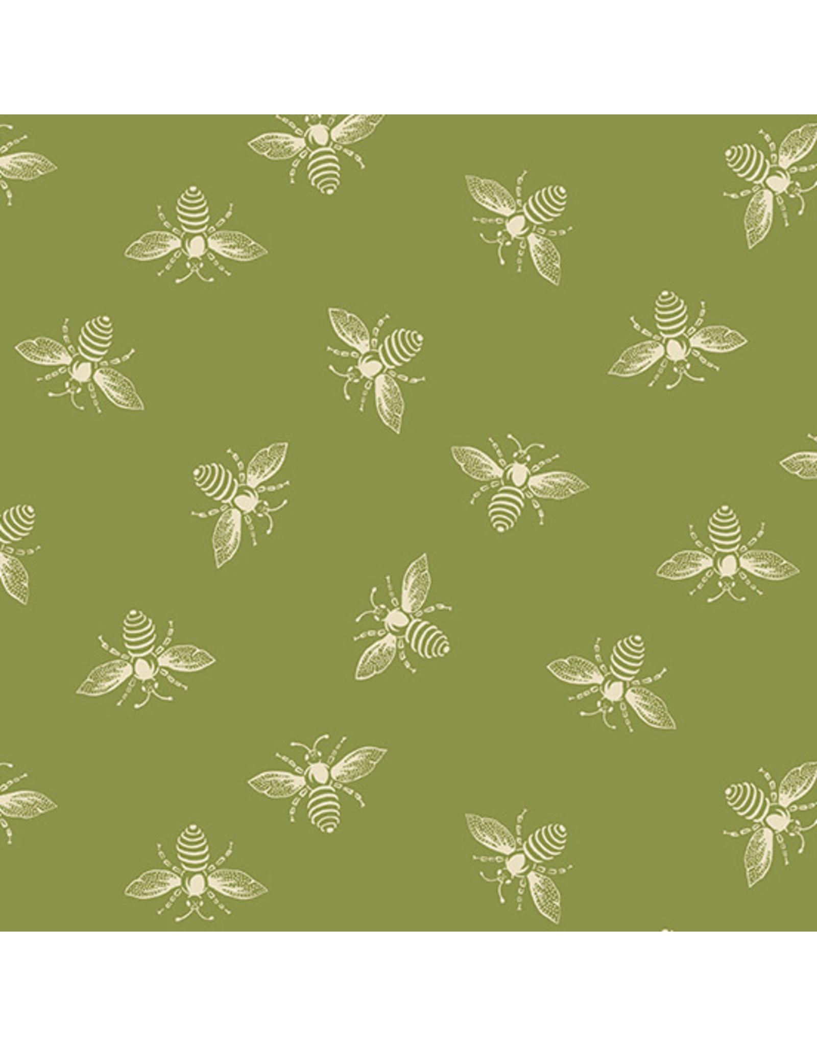 Renee Nanneman French Bee in Olivette, Fabric Half-Yards