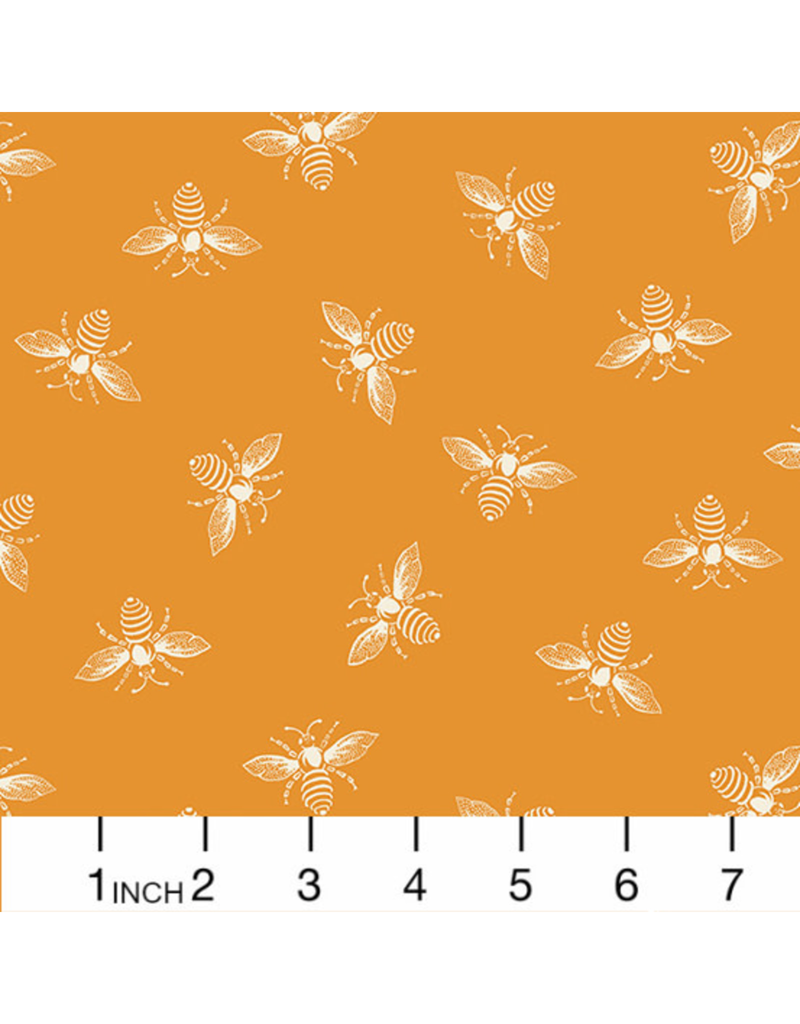 PD's Andover Collection French Bee in Orange Peel, Dinner Napkin