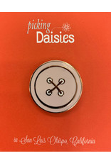 PD Enamel Pin - Button with Magnetic Fastener