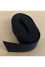 Picking Daisies Fold-Over Elastic Ribbon, 2-Yard Cut, Black